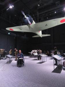 「零戦初号機」の実物大模型