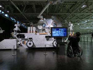ロボットアームの操作の体験