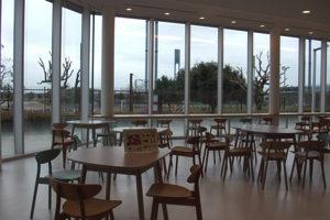 空宙博(そらはく)カフェの内部