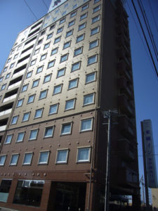 東横イン岐阜羽島駅新幹線南口の建物全体
