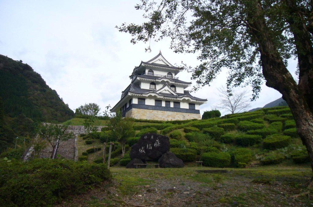 藤橋城の全景