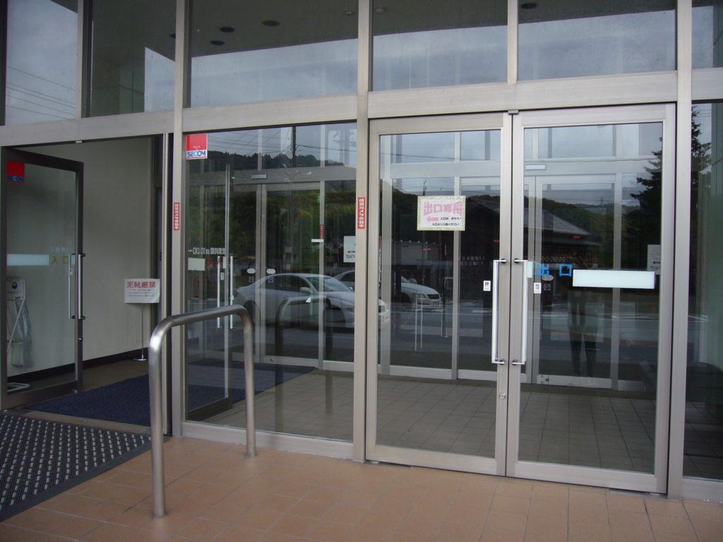玄関出入り口の扉