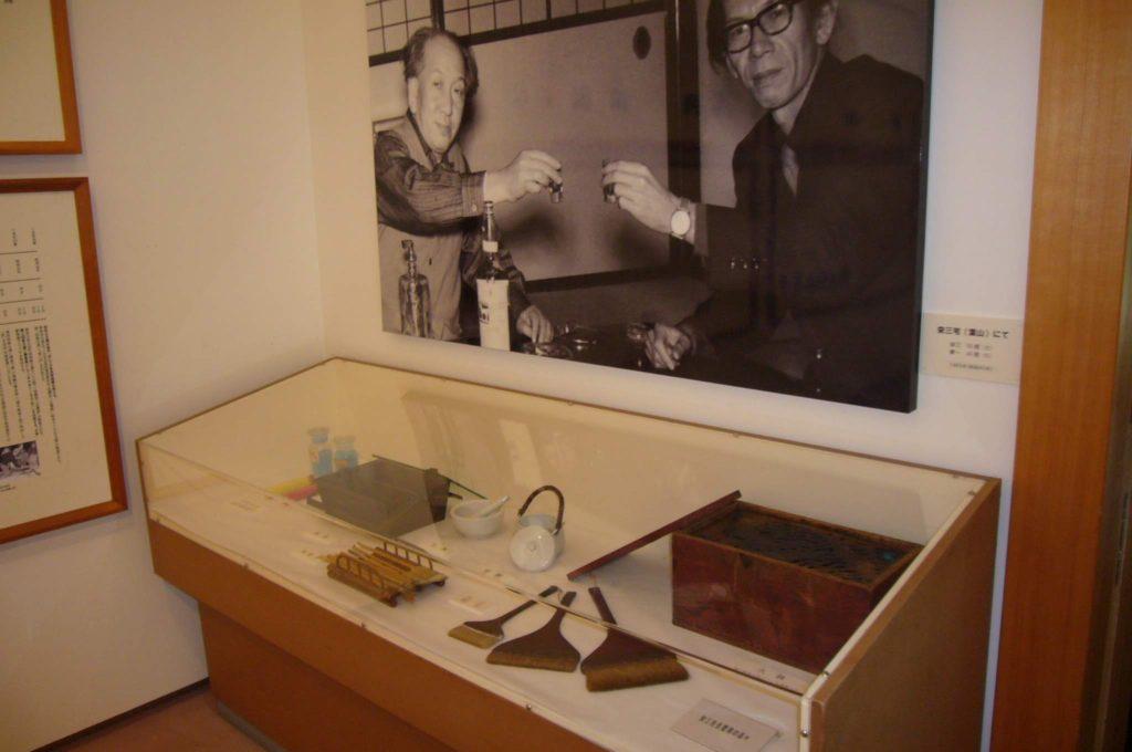 絵道具の展示