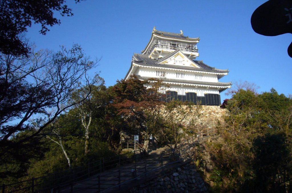 雄大で美しい岐阜城