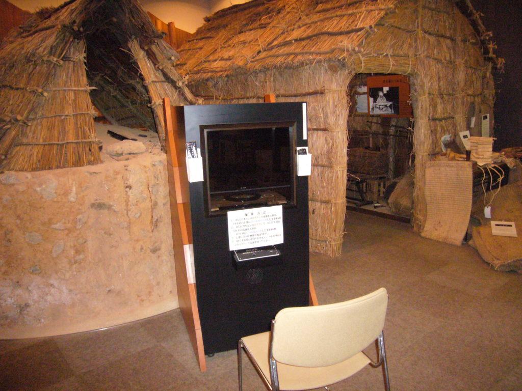 炭焼小屋の再現