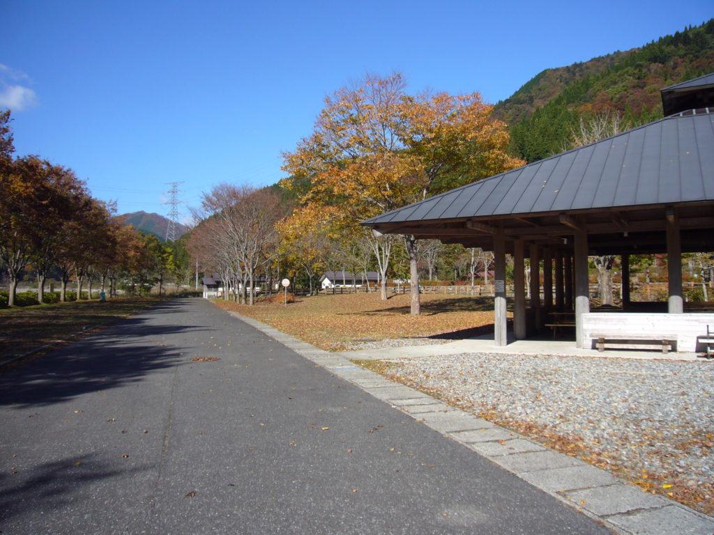 自然豊かなオートキャンプ場