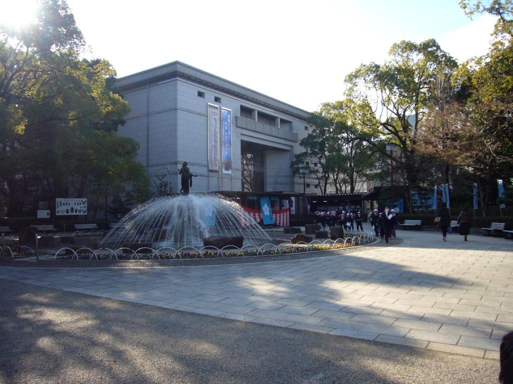 岐阜歴史博物館の全景