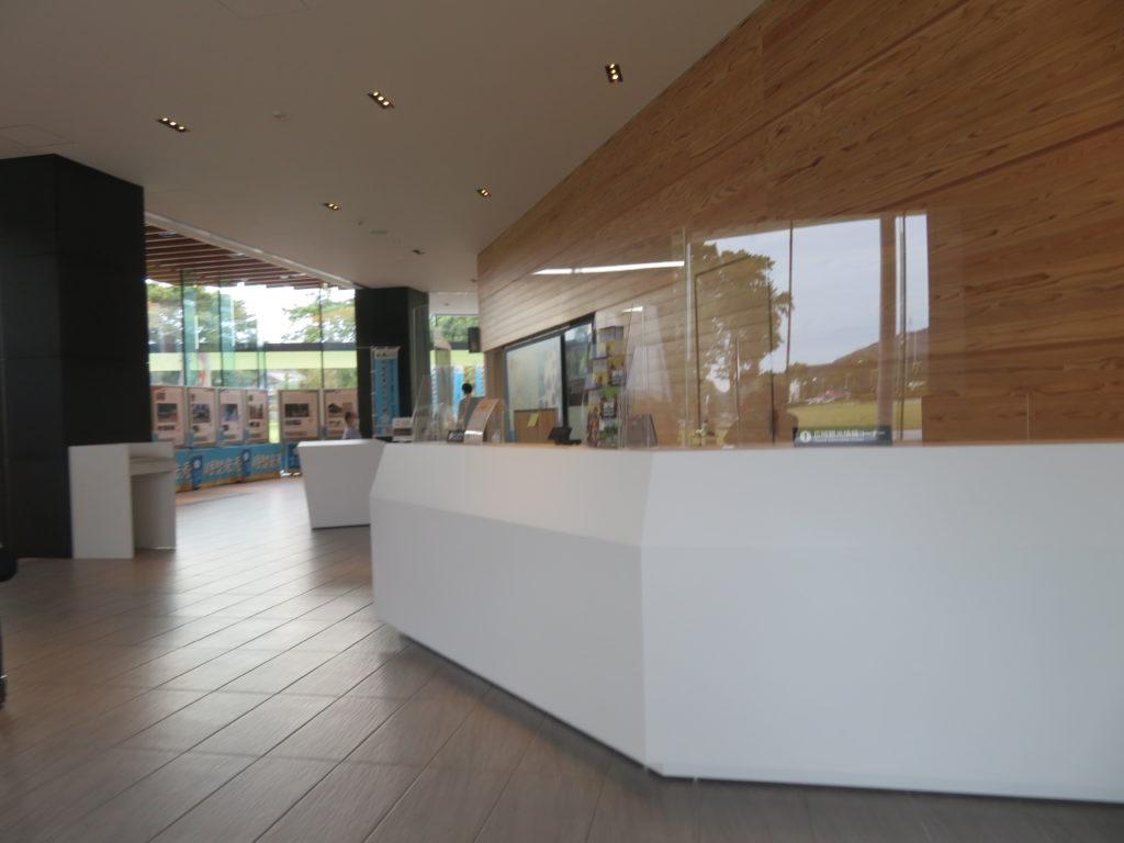 広域観光情報コーナーの写真